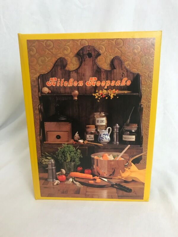 Vintage Hallmark Recipe Box Card File - New Old Stock