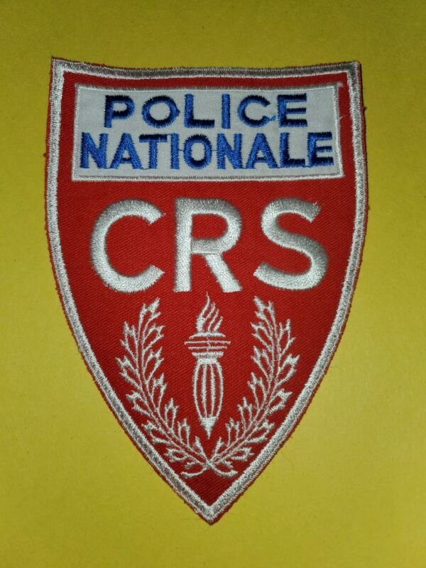 Police Nationale CRS Patch Large