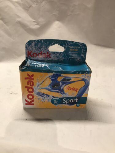 Kodak Underwater Disposable Camera Sport Waterproof 35mm Film 27 EXP 2017 - $10.00
