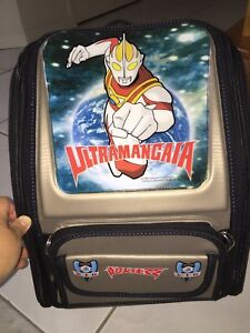 B/N Japan Animation Ultraman Backpack