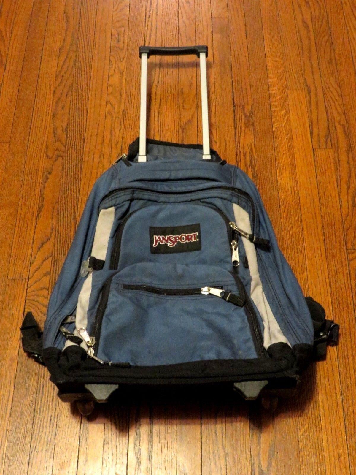 Men's JanSport Wheeled Rolling Blue Backpack