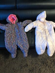 Snowsuit ( free so 3 diapers) first come.