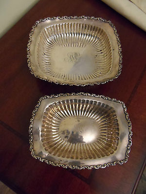VINTAGE  STERLING SILVER CANDY DISH SET BY WHITING SILVER CO. 11.3 oz Candy Dish Set