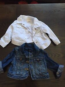 Baby girl 6-12 month jean jackets