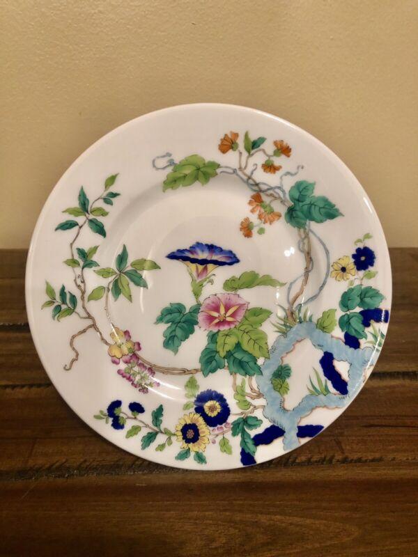"""Royal Limoges France Porcelain Paradis Bleu Butter/dessert Plate 6 1/4"""""""