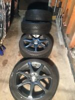 QUICK SALE: $$270Rims and tires 17""