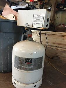 Fire suppression tank. FULL.