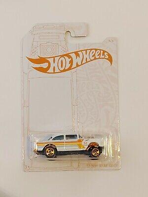 2020 Hot Wheels 52nd Anniversary Pearl Chrome 55 Chevy Bel Air Gasser