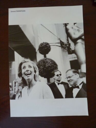 Emma Thompson Duchovny Anderson Double Side Coffee Table Book Photo Page 9x13