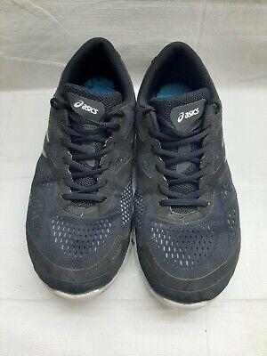 Asics 33 FA T533N Black  blue Men's 11 Mesh Athletic Running Cross Training