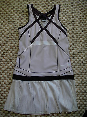Gorgeous Nike Serena William Tennis Dress Shades of Plum Pleated Size (Nike Tennis Sunglasses)