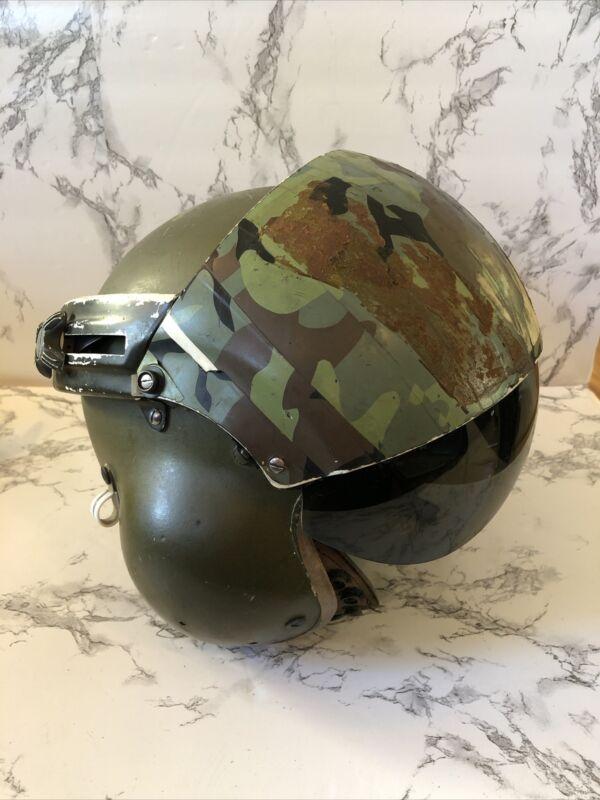 Vietnam Era Gentex Flight Helmet w/ Sonex Electronics and Visors