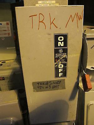 Ge Th2262dc 60 Amp 600 Volt Fusible Disconnect Model 10