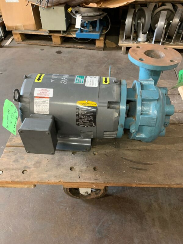Scot Pump 10hp Baldor Motor Centrifugal Pump 3x3 208-460V 3500 Rpm