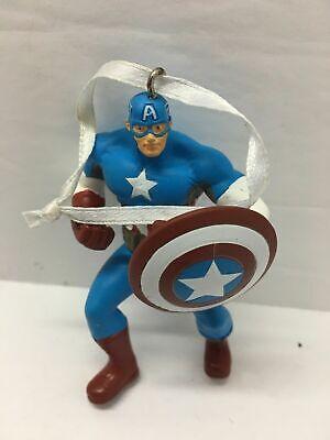 Hallmark Marvel Captain America Christmas Ornament Ceramic