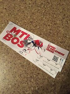 Habs tickets $300/Pair