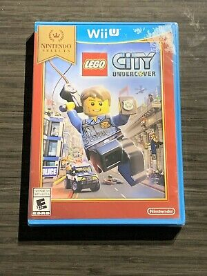 LEGO City Undercover Nintendo Selects - Nintendo Wii U BRAND NEW & SEALED