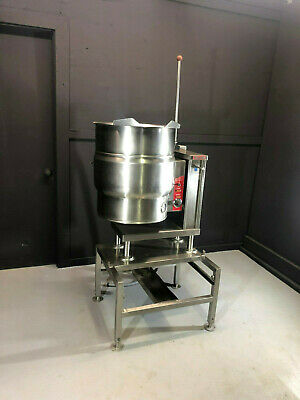 Vulcan 20-gallon Vec20t Tilting Steam Jacketed Kettle Electric In 208v