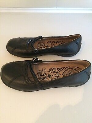 Hush Puppies Ladies Black Flat Shoes UK6 NEW