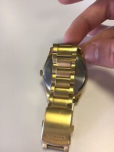 Citizen gold watch Narraweena Manly Area Preview