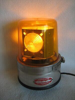 Vintage Action-lite 115 Volt Emergency Lamp Light Signal Business Warning