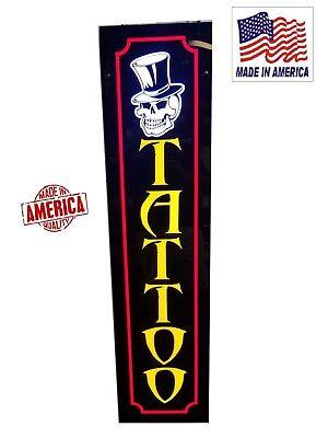 Tattoo Signled Light Box Signs 12x48x1.75