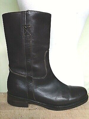 Good Looking J.CREW Women's Size 8M Soft Brown Leather Flat Short Riding Boot
