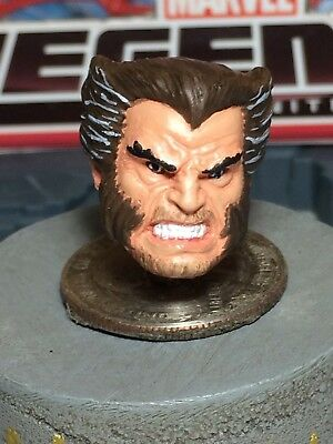 MARVEL LEGENDS PAINTED / FITTED TOYBIZ OLD LOGAN 1:12 HEAD CAST FOR 6IN FIGURE