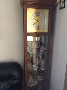 Grandfather clock horloge