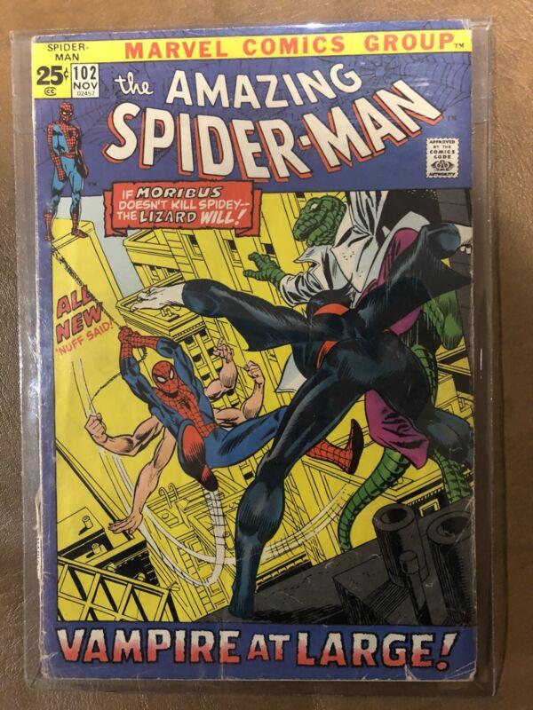 Comic Book-the amazing Spider-Man 102