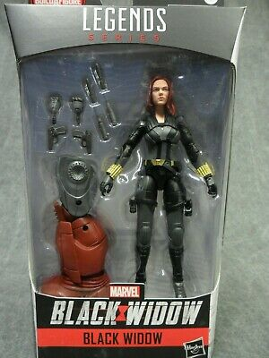 Marvel Legends NEW * Black Widow * Black Widow BAF Crimson Dynamo Figure