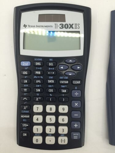 Vintage Texas Instruments TI-30X IIS Solar Scientific Calculator