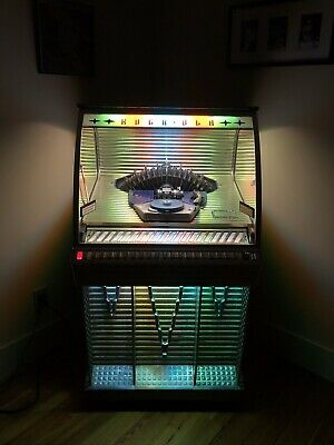 "Jukebox Vintage Rockola   ""The Icicle""  1955 , model 1448  Very Good condition."