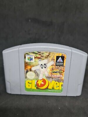 Nintendo 64 Glover Nice Condition N64 PAL