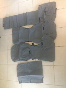 Hilux canvas seat covers genuine Toyota Atherton Tablelands Preview