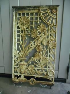 Cast Iron Balustrade Panels