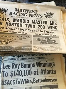 Old Race Car Papers