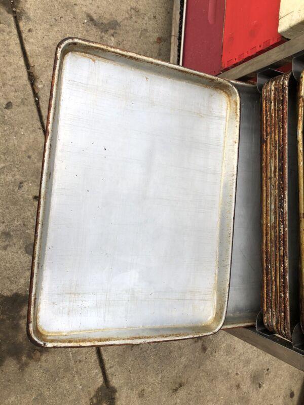 "Half size 18"" x 13"" aluminum baking sheet pan - 150 On Hand"