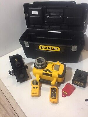 Dewalt Dw079pkh Self Levelling Rotary Laser Level