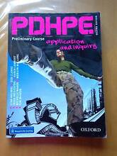 PDHPE Application & Inquiry Preliminary Course 2nd Edition Bexley Rockdale Area Preview