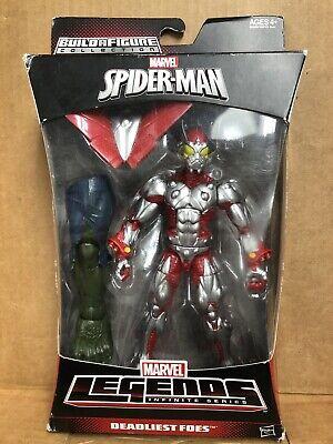 Beetle Deadliest Foes Marvel Legends Spider-man Action Figure NEW!! W/ Baf Piec
