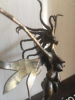 Carl Tasha Provincetown Mid Century Modern Hermaphrodite Fairy Sculpture