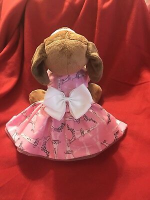 Dog dress Pet Dress Parisian Themed Pet Clothes