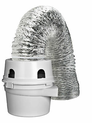 ProFlex Indoor Dryer Vent Kit For Electric Clothes Dryer, Ve