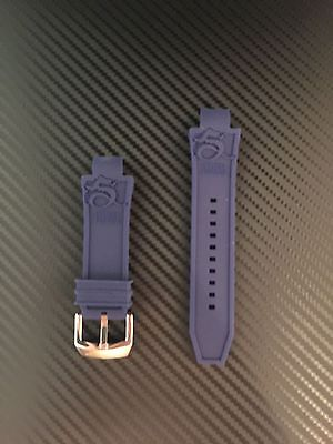 Invicta Subaqua Noma III Dark Blue Rubber Watch Replacement Band Strap