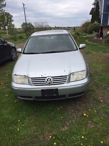2005 VW JETTA TDI.