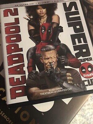 Deadpool/Deadpool 2 (4K Ultra HD Blu-ray, 2018, Includes Digital Copy 4K...