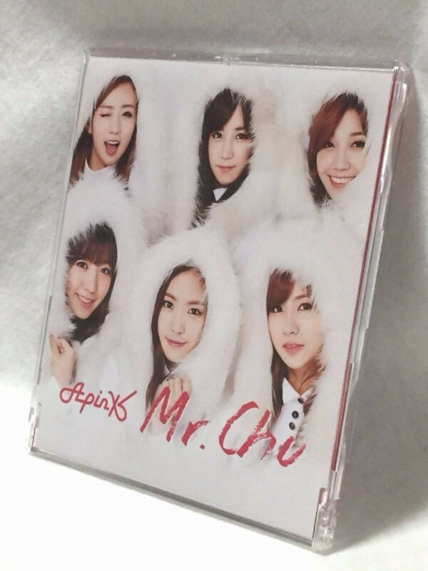 K-pop_Apink_Japan-version-used-CD_first-limited_Mr._Chu_UPCH-89200_ChoRong-card