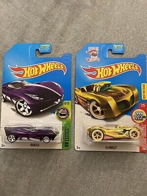 2017 Hot Wheels Super Treasure Hunt Lot of 2
