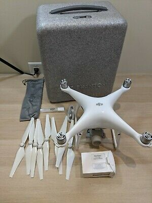 DJI Phantom 4 Drone Bundle With Original Case - NO REMOTE